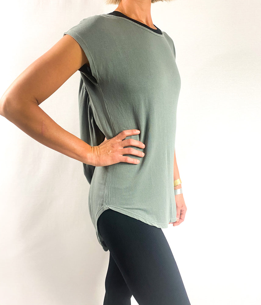 Load image into Gallery viewer, Open Back Yoga Top | FINAL SALE