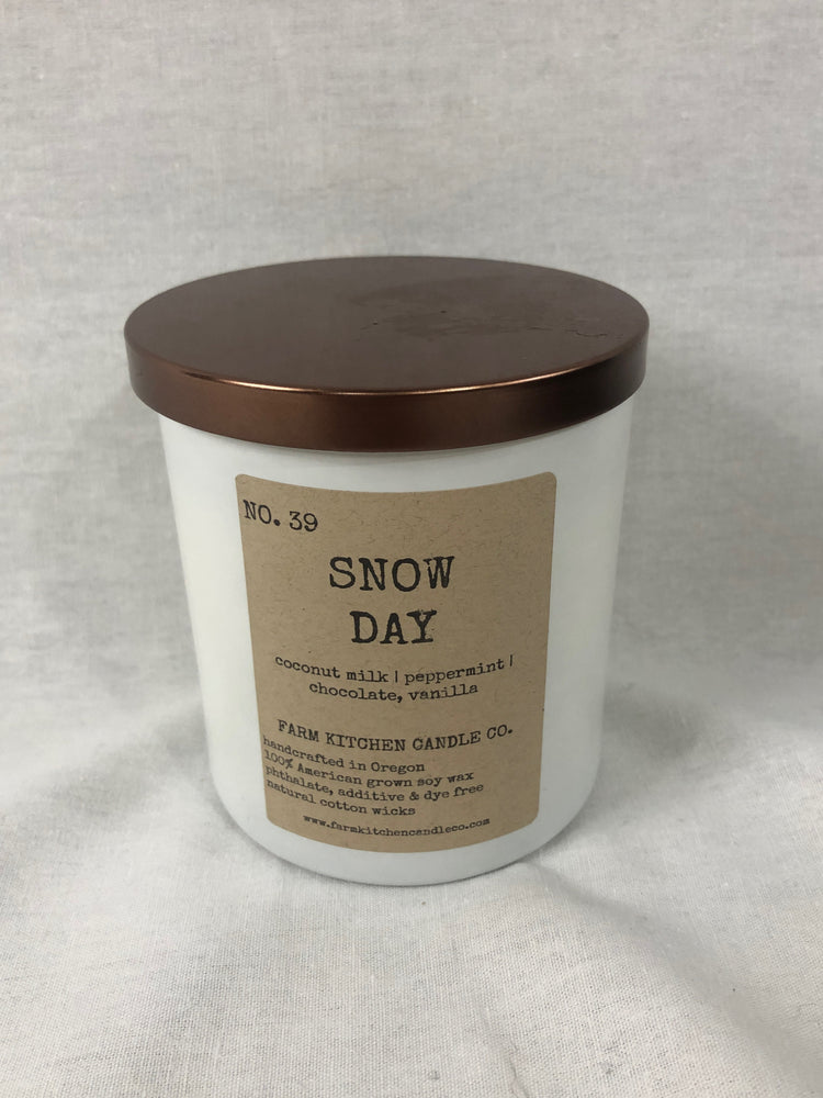 Snow Day Candle