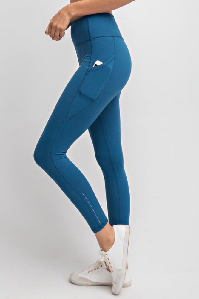Super Soft Leggings - Dark Teal