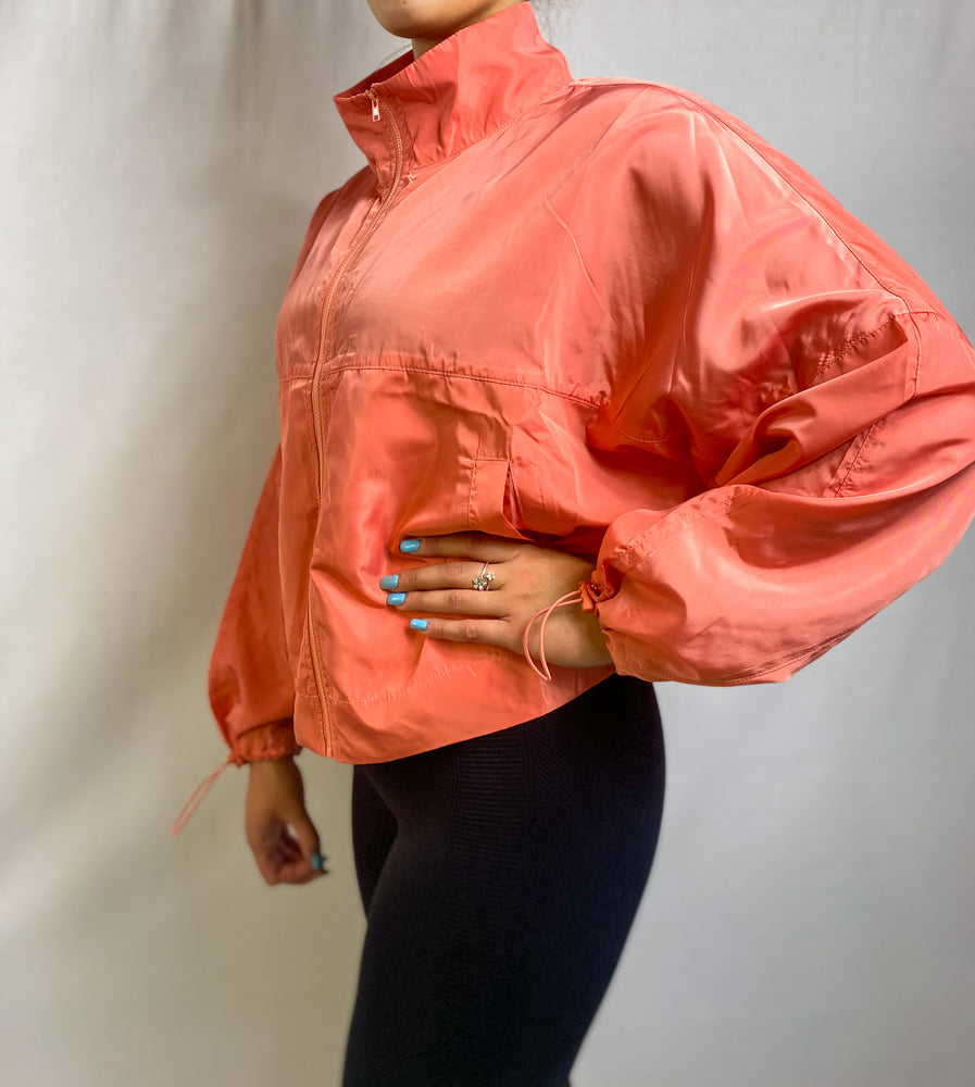 Load image into Gallery viewer, Neon Coral Jacket | FINAL SALE
