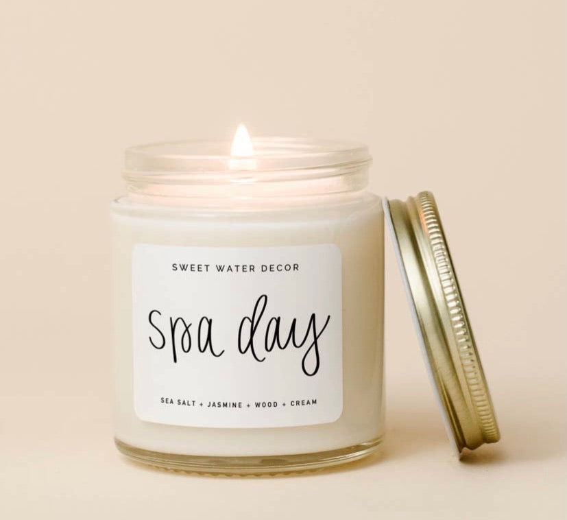Spa Day Mini Soy Candle