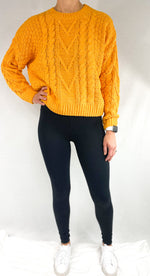 Gold Cable Sweater | FINAL SALE