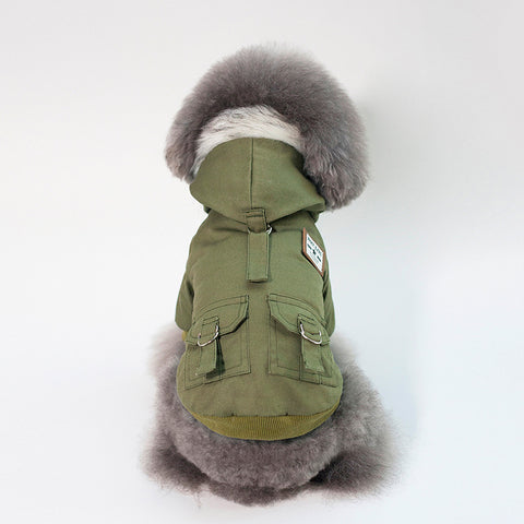Cap dog coat - The Pet Shopco