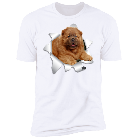 Image of CHOW CHOW 3D Premium Short Sleeve T-Shirt - The Pet Shopco