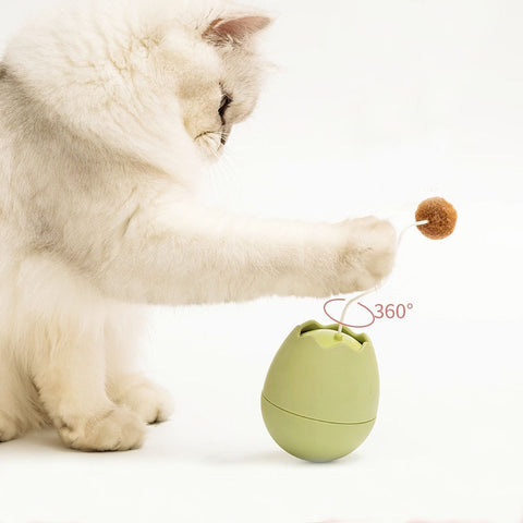 ELECTRIC ROLY-POLY CAT TOY - The Pet Shopco