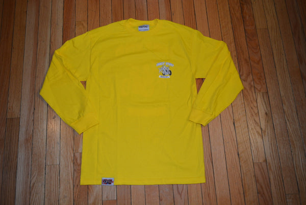 "Early Start ""Bikers"" Long Sleeve Shirt Yellow"