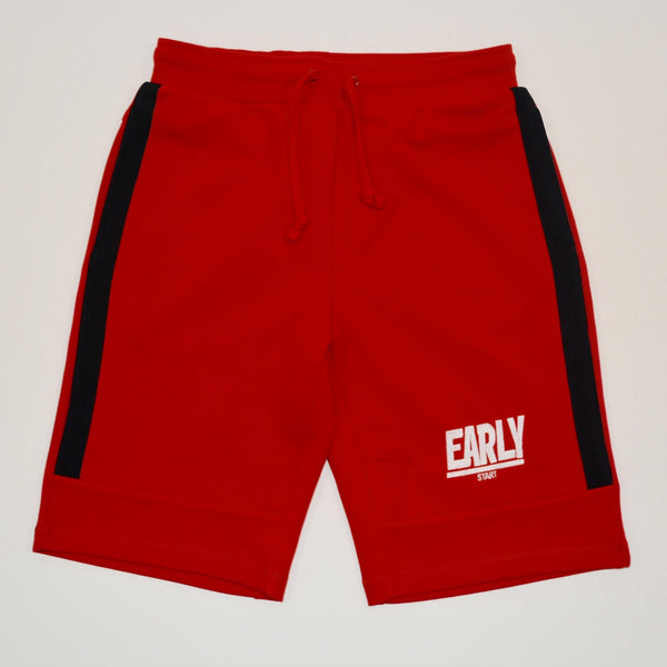 Performance fleece shorts - Red