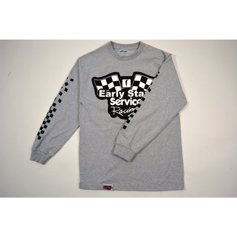 Service Racing Longsleeve - Grey