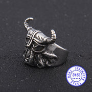 Viking Helm Men's Ring