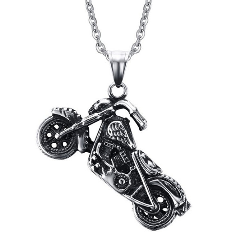 Vintage Motorcycle Necklace