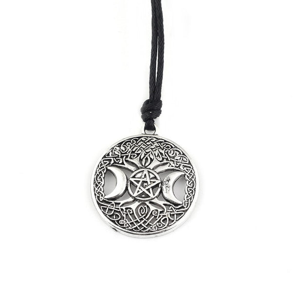 Viking Hammer And Pentagram Necklaces