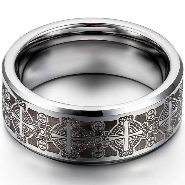 Band Style Stainless Steel Celtic Ring