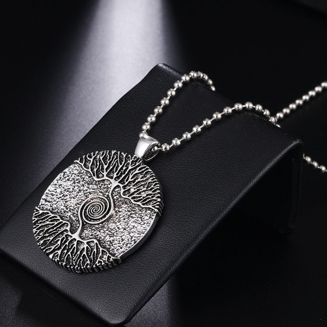 Tree of Life Spiral Amulet