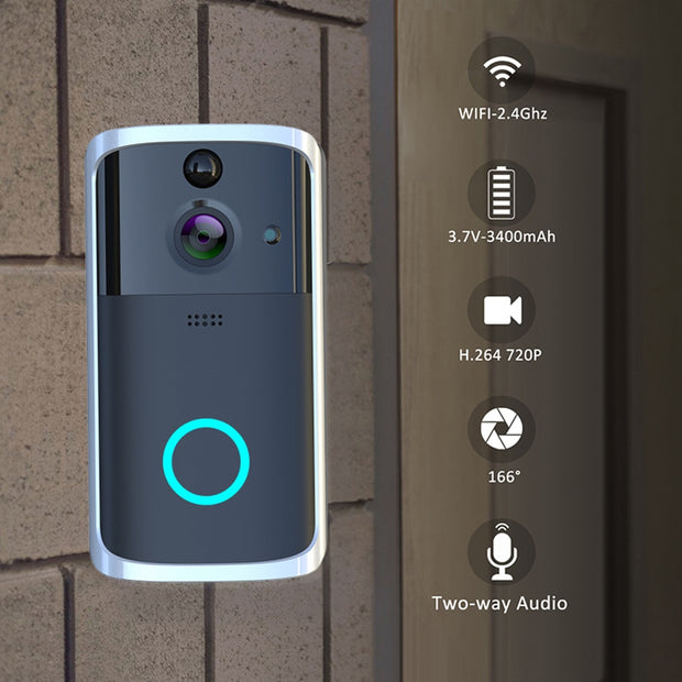 Smart Video Door Bell Security System