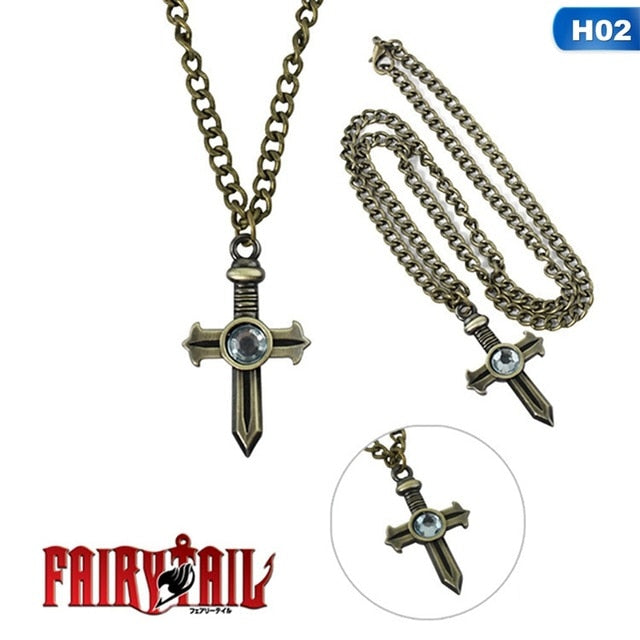 Fairy Tail Anime Gray Fullbuster Necklace