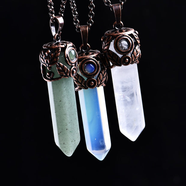 Natural Energy & Healing: Crystal Pendant