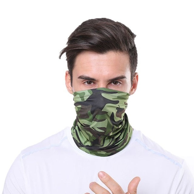 Sport Style Neck Gaiter Face Cover