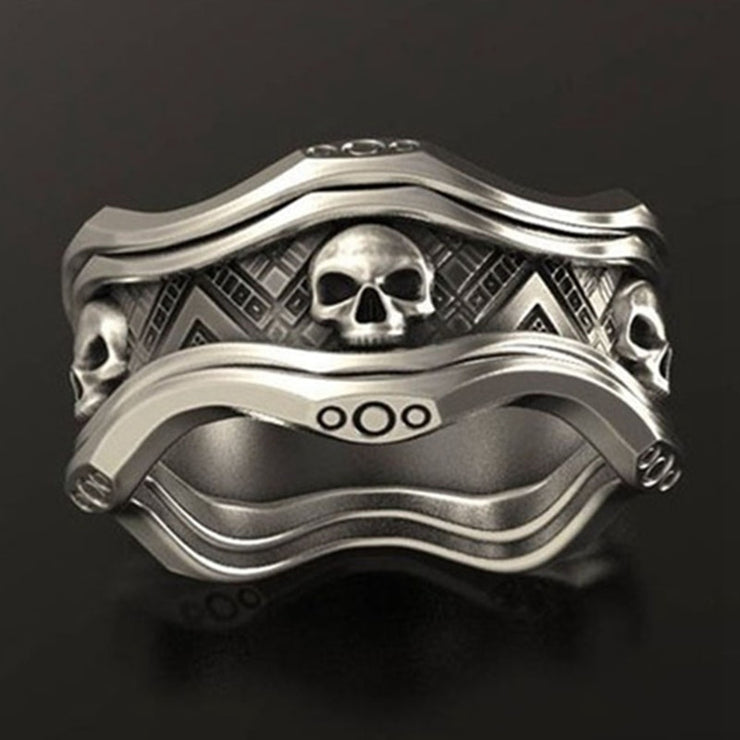 Punk Personality Skull Ring
