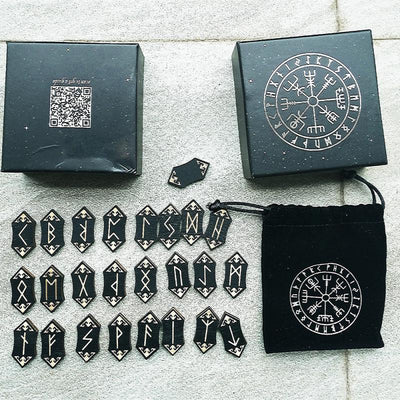 24pcs Nordic Rune Divination Set