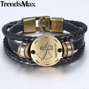 Zodiac Leather Bracelet Collection