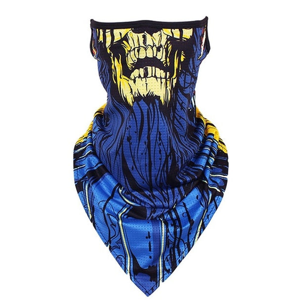 Bandana Style Neck Gaiter Scarf Face Covering