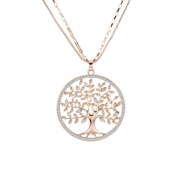 Beautiful Tree of Life Pendant Necklaces