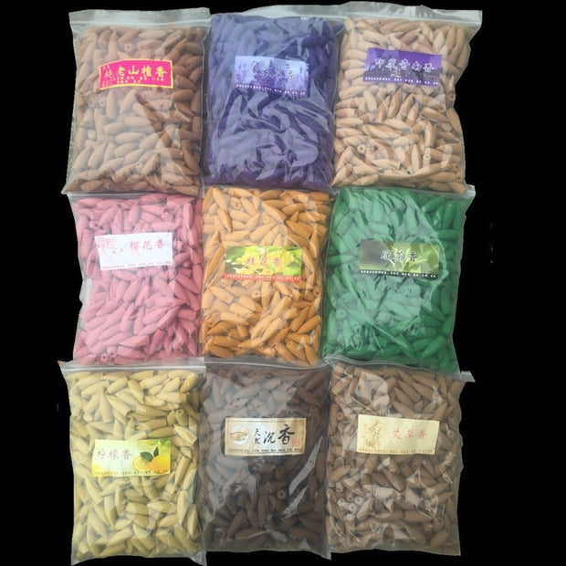 20-50pcs Natural Cone Incense: Eight Variations To Choose From!