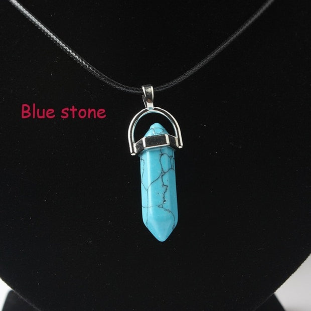 Natural Crystal Pendants - Classic Look