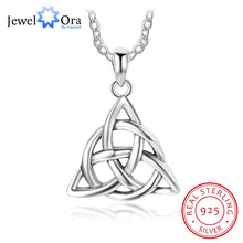 Load image into Gallery viewer, Trinity Knot Pendant Necklace