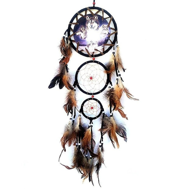 Traditional Handmade Feather Dream Catchers