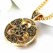Celtic Knot Medallion Pendant
