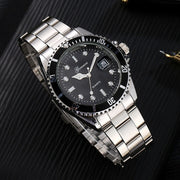 Classic Stainless Steel Wrist Watch