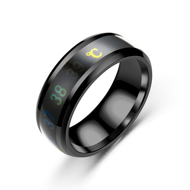 Smart Ring: Reads Temperature