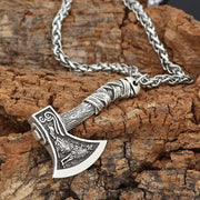 Viking Axe Pendant Necklaces