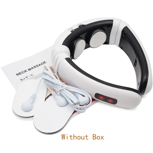 Electronic Pulse Back and Neck Massager