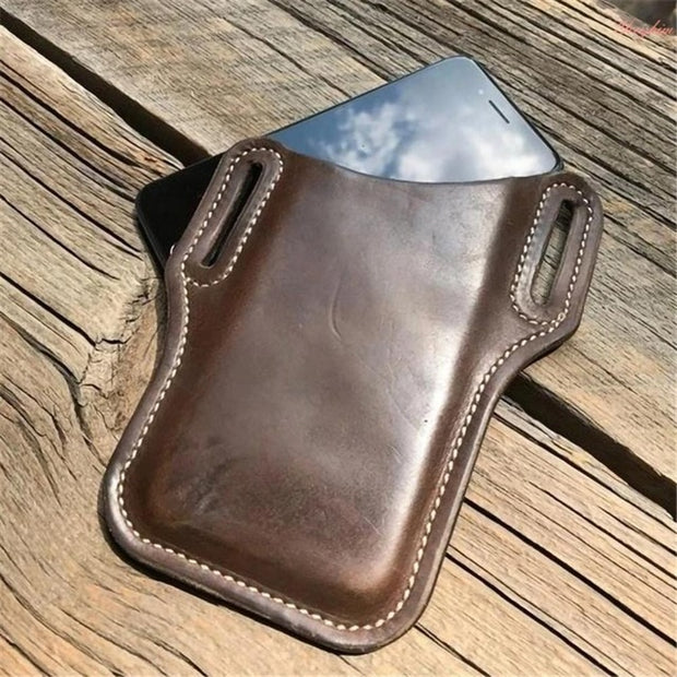 Men's Leather Cellphone Holster