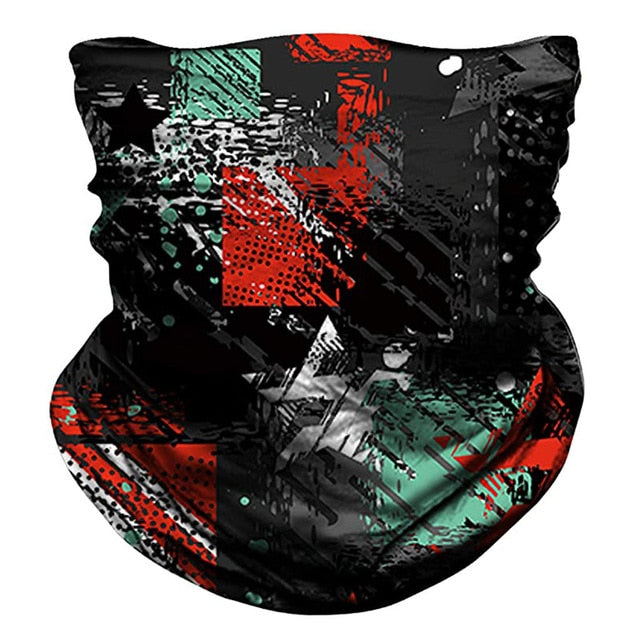 Punk Style Neck Gaiter Face Cover