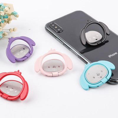 Puppy Dog Magnetic Phone Ring