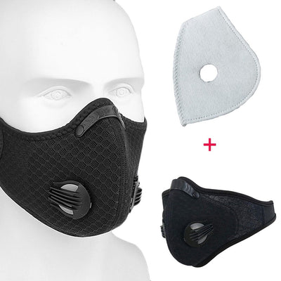 Wrap Around Sport Style Face Cover