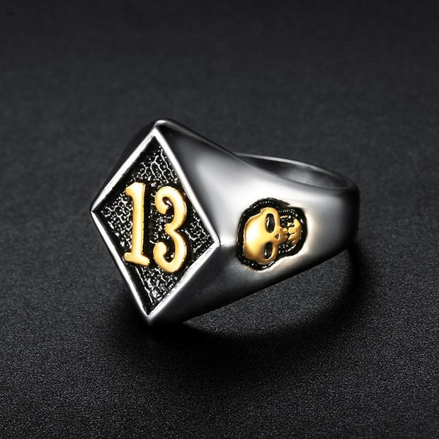 Lucky Number 13 Ring