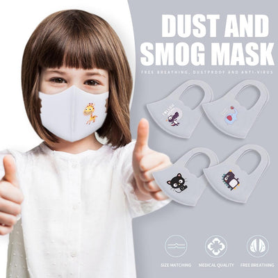 Youth Cartoon Washable Face Cover