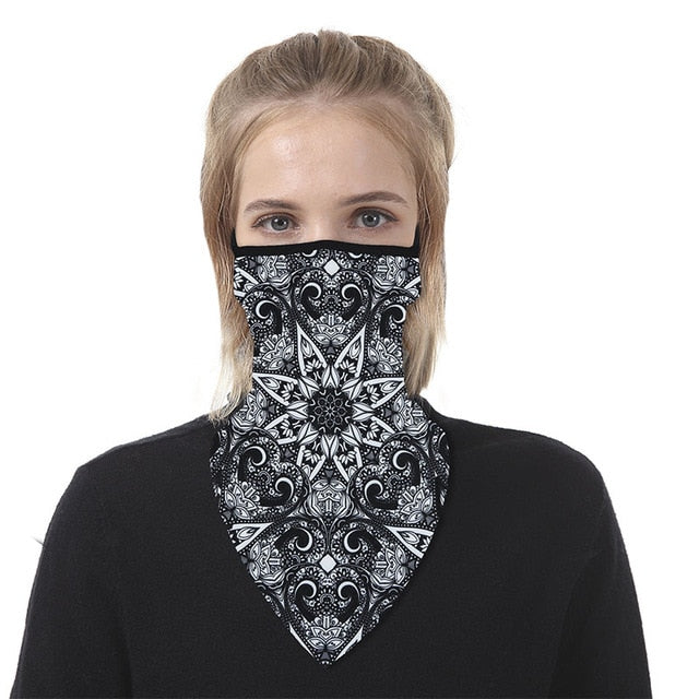 Motorcycle Club Bandanna-Style Neck Gaiters