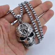 Evil Skull Necklace