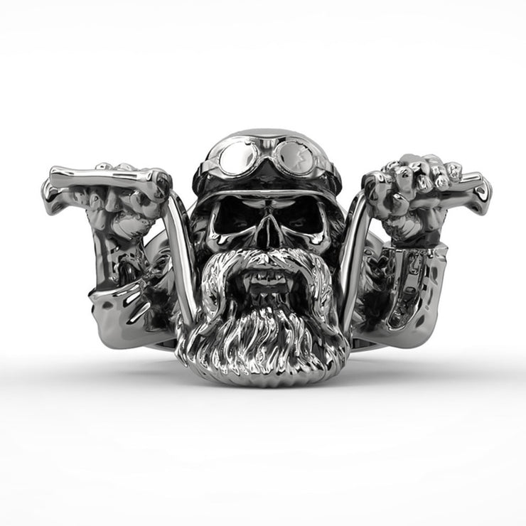 Men's Vintage Motorcycle Ring