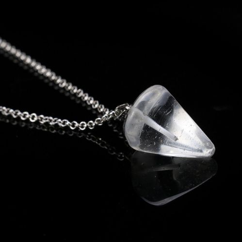 Crystal Pendulum Necklaces for Healing & Dowsing