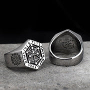 Nordic Rune Tree of Life Sigil Ring