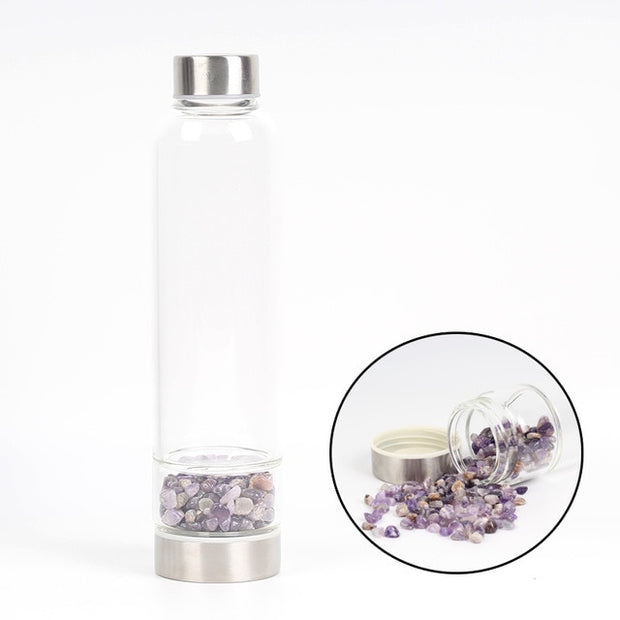 Boost Natural Health with Quartz Infused Water Bottles