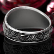 Viking Compass Ring