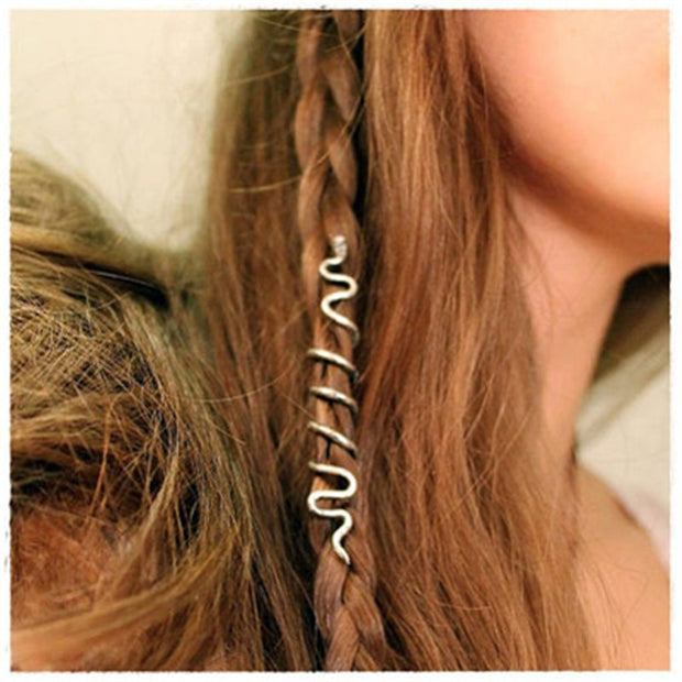 Viking Spiral Hair Charms