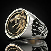 Warrior Wolf Ring